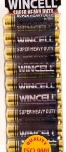 Wincell Super Heavy Duty AAA Shrink 10Pk Battery
