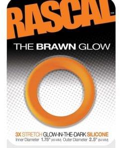 The Brawn Cockring Glow Orange