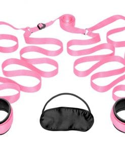 Bedroom Restraint Kit Pink