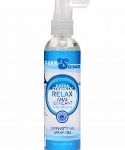 Relax Anal Lube 4.4oz/130ml Desensitizing Spray Gel
