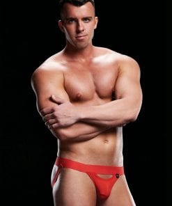 Low Rise Jock Red