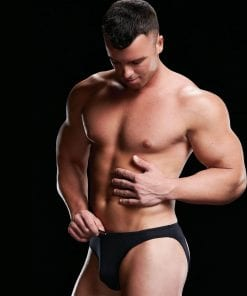 Low Rise Moonshine Brief Blk