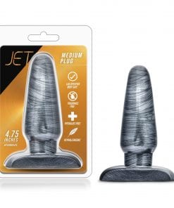 Jet Medium Plug Carbon Metallic Black