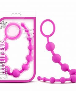 Luxe Silicone 10 Beads Pink