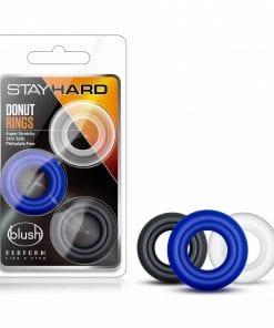 Stay Hard Donut Rings