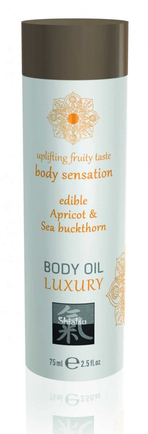 Shiatsu Luxury Body Oil Edible Apricot & Sea Buckthorn