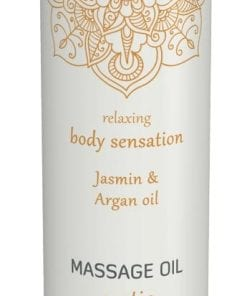Shiatsu Massage Oil Erotic Jasmin And Argan Oil 100ml
