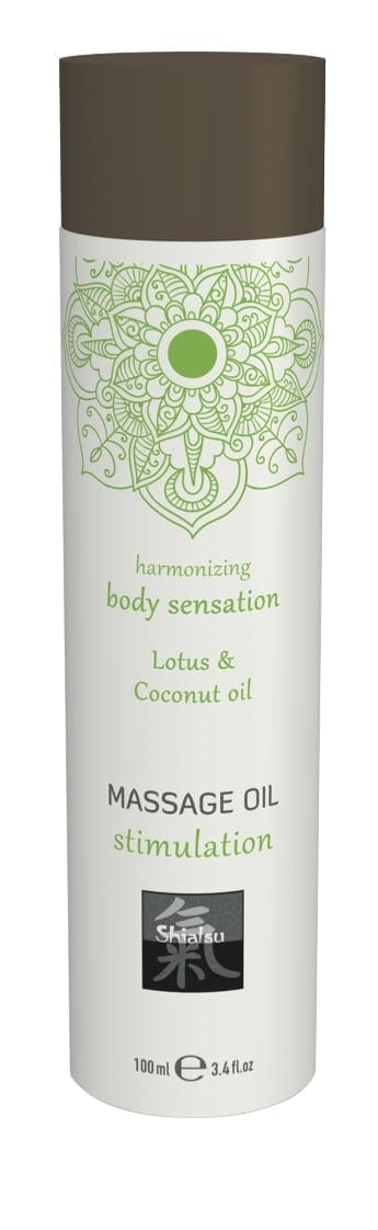 Shiatsu Massage Oil Stimulation Lotus And Coconut Oil 100ml