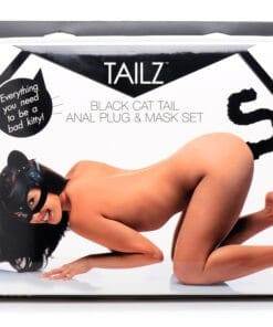 Cat Tail Anal Plug and Mask Set