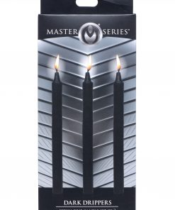 Fetish Drip Candles 3 Pack - Black
