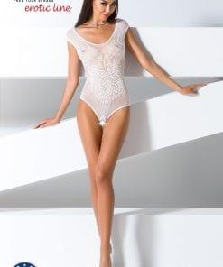 Open Crotch Body BS64 White