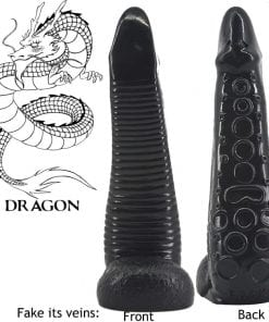 Octopus Dildo Black