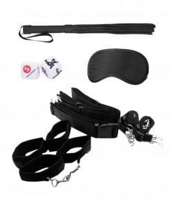 Bondage Belt Restraint System - Black