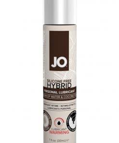 JO Coconut Hybrid Lubricant 1 Oz / 30 ml Warming