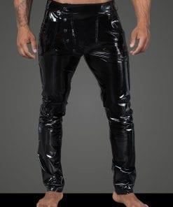 Long Elastic PVC pants