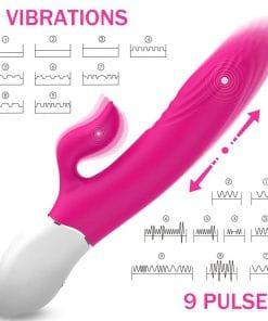 Lighter Rabbit Vibrator - Pink