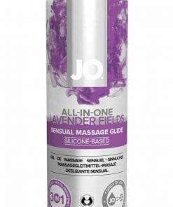 JO Massage Glide Lavendar 4 Oz / 120 ml