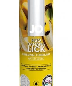 JO H2O Flavored Banana Lick 4 Oz / 120 ml