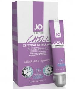 JO Clitoral Gel Tingling G-Spot Chill 0.34 Oz / 10 ml