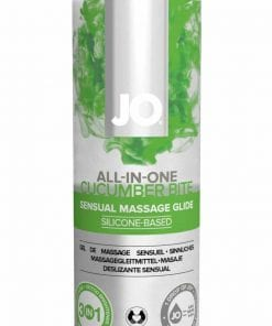 JO Massage Glide Cucumber 4 Oz / 120 ml (N)