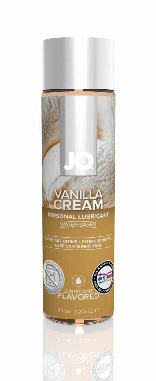 JO H2O Vanilla Cream 4 Oz / 120 ml