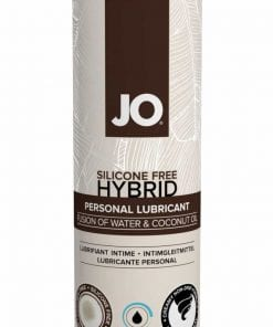 JO Coconut Hybrid Lubricant 4 Oz / 120 ml Cooling