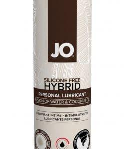JO Coconut Hybrid Lubricant 4 Oz / 120 ml Warming