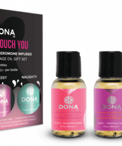 Dona Let Me Touch You Massage Gift Set (Scented Massage Oil Trio 3 X 1oz)