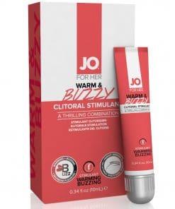 Jo Warm & Buzzy - Clitoral Cream 10 ml  (T)