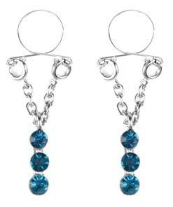 Sapphire Drop Nipple Jewellery