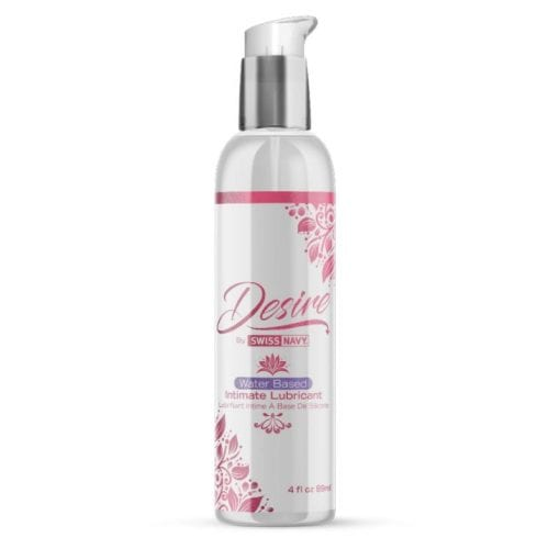 Desire Water Based Intimate Lubricant 4 oz