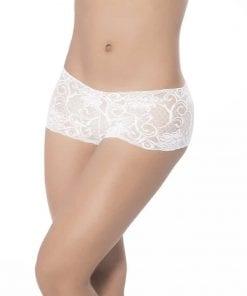 Lace Boyshort White