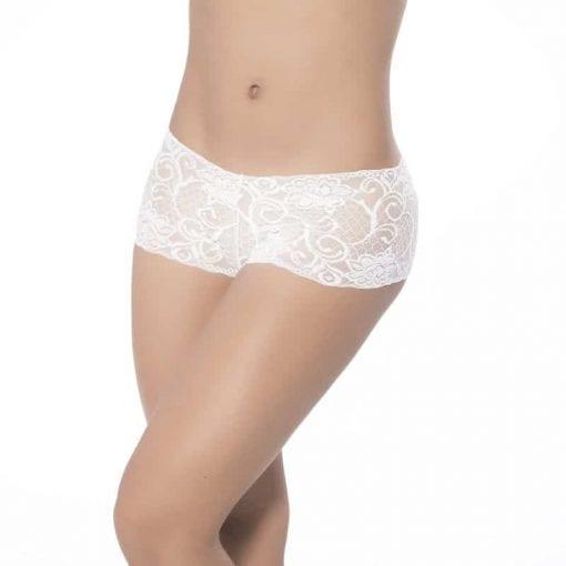 Lace Boyshort White