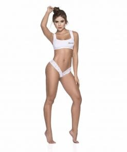 Sexy Lace Thong White