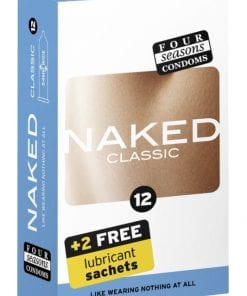 Four Seasons Naked Classic Condom 12 Pc