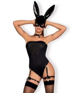 Bunny Mask Costume 6 Pc