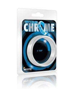 Wide Band Chrome Cock Ring 48mm