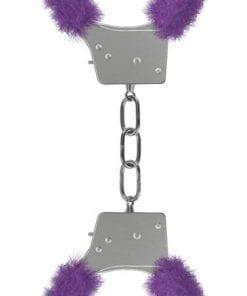 Beginners Handcuffs Furry - Purple