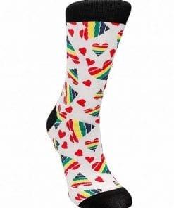 Socks Happy Hearts Size 42-46