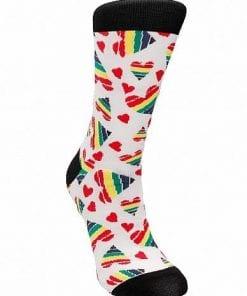 Socks Happy Hearts Size 36-41