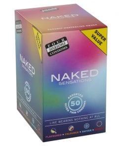 Four Seasons Naked Sensations 50 Pc
