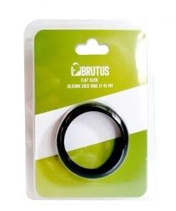 Brutus Flat Slick Cock Ring 45mm