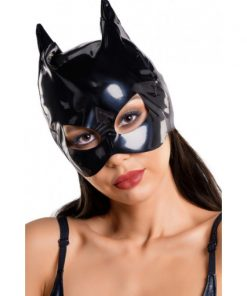 Glossy Wetlook Cat Mask